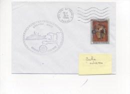 Frégate VENTOSE - EMBARGO HAITI - Flamme Mécanique FORT-DE-FRANCE 8/04/1994 - Postmark Collection (Covers)