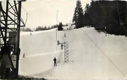 Dept Div - Haute Savoie - Ref N 579 - Mont Saxonnex - Teleski Des Combes  - Sports D'hiver - - Other Municipalities