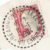 Timbre Oblitéré   Beaumont S/leze   1964 - Sonstige