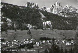 POZZA Di Fassa - Trentino - DOLOMITES - ITALY - Real Photographic Postcard  - Panorama - Italy