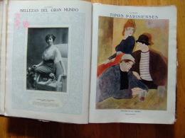 REVISTA LA ESFERA  ( MADRID 1914 ) ENCUADERNADO ( 28 REVISTAS DESDE 9/1/1915 Al 24 /7/1915 - Recopilación