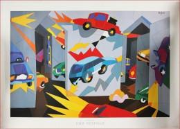 X NESPOLO UGO - Automobilia.    - 100,00 X 140,00 Cm - - Stampe