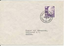 Sweden Cover Flämslättslägret JUNIOR RED CROSS 26-7-1954 - Croce Rossa