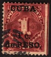 ~~~ Cuba (USA Protetectorate) 1900 - Postage Due - Mi. 1 (o) ~~~ - Strafport