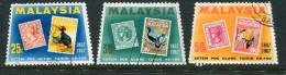 Malaysia Scott #48-50 Used - Malayan Postal Union