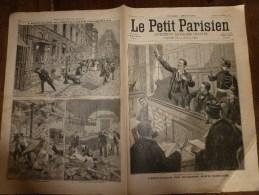 1898 LE PETIT PARISIEN :Naufrage Bâteau-Omnibus Ligne Charenton-Point Du Jour;Opéra-Comiq - Newspapers