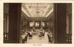 CPA - MARSEILLE. SPLENDIDE HOTEL, Hall Et Salons - 2 Scans - Marseilles