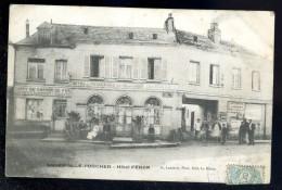 Cpa  Du 76  Angerville L' Orcher , Hôtel Féron .....  Le Havre  JUI1 - Criquetot L'Esneval