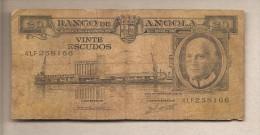 Angola - Banconota Circolata Da 20 Scudi - 1962 - Angola