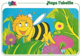 CPSM MAYA L ABEILLE TF1 EDITIONS DE VIRGINIE 1982 9/5 APOLLO FILM - Insects