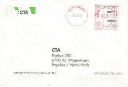 """Burundi 2002 Bujumbura Hasler """"Mailmaster"""" H-10 Meter Franking EMA Cover - Burundi"""