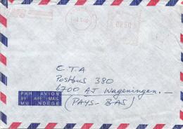 "Burundi 2000 Bujumbura Hasler ""Mailmaster"" H-10 Meter Franking EMA With EMS Slogan Cover - 2000-09: Afgestempeld"