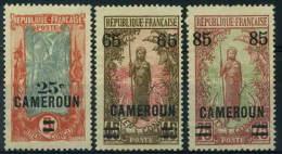 France, Cameroun : N° 103 à 105 Nsg Année 1924 - Cameroun (1915-1959)