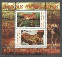 Burundi 2009 Animals, Perf. Sheet, MNH S.120