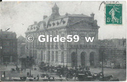 ROUBAIX - Bourse Et Chambre De Commerce (animée) - N° 18 - Roubaix