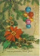 CARTOLINA 1976 POST CARD CHRISTMAS NATALE WEIHNACHTEN NAVIDAD NATAL VIAGGIATA - Santa Claus