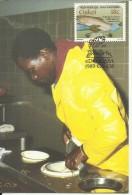 CISKEI 1989 FISH PESCE MAXIMUM CARD FDC - Ciskei
