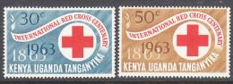 KUT, 1963 RED CROSS 2 MNH - Kenya (1963-...)