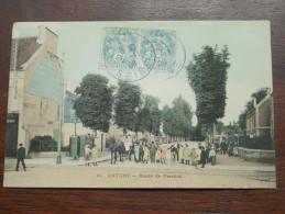 ANTONY Route De FRESNES - Anno 1908 ( Zie/voir Foto Voor Details ) !!