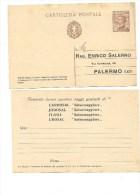 5910 Regno Intero Postale Pubblicitario Privato Farmaci Salsomaggiore 30 C Michetti Nuovo - 1900-44 Victor Emmanuel III