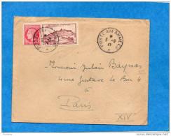 MARCOPHILIE- Lettre Occup  Fse En ALLEMAGNE-SP 76961-BPM 523B-cad Poste Aux Armée 1947-affrant2 Stamps 6frs - WW II