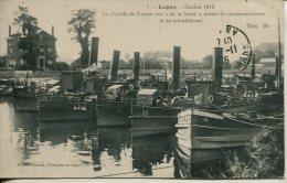 CPA LAGNY-1914-LA FLOTILLE DE GUERRE DITE DE LA SEINE - Lagny Sur Marne