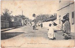 DAKAR. Une Rue De Dakar. 11 - Sénégal