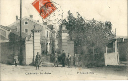 CPA 84 CAROMB LES ECOLES  BELLE ANIMATION - Francia