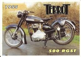 MOTO TERROT 500 RGST 1955 GROS PLAN ED CENTENAIRE 08 TBE - Motorbikes