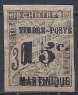 Martinique N°22 (*) NsG - Martinique (1886-1947)