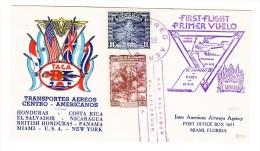 Erstflugbrief San Salvador- Cuba - U.S.A. - Salvador