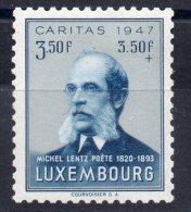 N°404 - 3F50+3F50   - Neuf Avec Trace De Charniere - Luxembourg