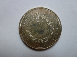 Pièces De 50 Francs Hercule 1974 - France