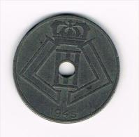 ¨ LEOPOLD  III   25 CENTIEM  1945   VL/FR - 1934-1945: Leopoldo III