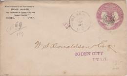 D 364) USA Ganzsache Entire Mit Zudruck Tax Collector: 400 Jahre Der Entdeckung Amerika 1492 - 1892 - United States