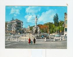 MESSINA,fontana Nettuno-1964-Benzina AGIP-Auto-CAR-!!!!!!!!!!! - Messina
