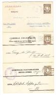 Guatemala Lot Von 3 Ganzsachen 1924/29 - Guatemala