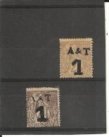 Annam-Tonkin _ N°1/2 (1888) - Usati