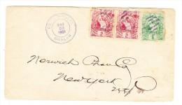 Guatemala  Brief May.20.1901 Von Gualan Nach New-York USA - Guatemala