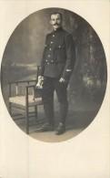 CARTE PHOTO SURCHARGEE AU VERSO DU COUP DU CAMP DE WAHN . - Guerre 1914-18