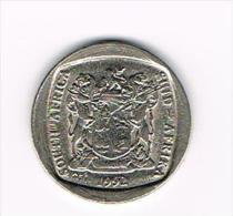 ¨ ZUID AFRIKA  1 RAND 1992 - Afrique Du Sud