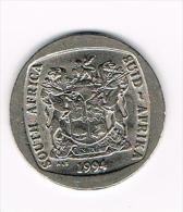 ¨ ZUID AFRIKA  5 RAND 1994 - Afrique Du Sud