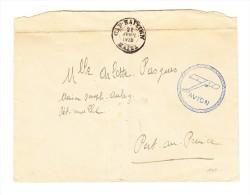 Haiti Flugpost Brief 24-4-1928 Cap Haitien Nach Port Au Prince - Haiti