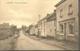 (B489) Laneffe. Route De Charleroi. PRACHTKAART RARE RARE - Walcourt