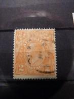 Australia 1921 2d Dull Orange SG 62a Used - 1913-36 George V: Heads
