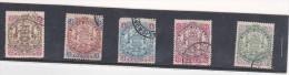 Rhodesia 1896-97 Stamps Used - Grande-Bretagne (ex-colonies & Protectorats)