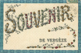30 - VERGEZE - Un Souvenir De ... - (voir Scans Recto-verso) - Vergèze