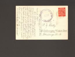 Alliierte Besetzung Postkarte Aus Berlin-Charlottenburg Mit Amerik.Zensur Mi.Nr.919 Von 4/46 Nach Melsungen - Gemeinschaftsausgaben