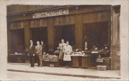 Commerce - Métiers - Carte-Photo Magasin Epicerie - Negozi