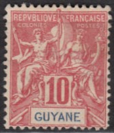 N° 44 - ( NSG ) - Neuf Sans Gomme - French Guiana (1886-1949)